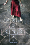 Child Photos - Hopscotch by Joana Kruse