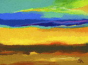 Abstract Landscape Pastels - Horizons by Stephen Anderson