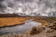 Geothermal Framed Prints - Hot Creek Framed Print by Cat Connor