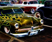Ford Sedan Framed Prints - Hot Rods Framed Print by Steve McKinzie