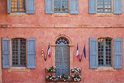 French Doors Framed Prints - Hotel de Ville Framed Print by Brian Jannsen