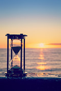 Passing Prints - Hourglass Sunrise Print by Colin and Linda McKie