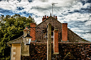 Apremont Framed Prints - House in Apremont-sur-Allier Framed Print by Oleg Koryagin