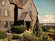 Historic Sites Posters - House Of The Seven Gables Poster by Lourry Legarde