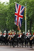 Union Jack Photos - Household Cavalry Life Guards by James Brunker