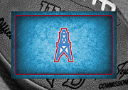 Oilers Prints - Houston Oilers Print by Joe Hamilton