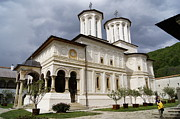 Romania Photo Originals - Hurezi Monastery Romania by Marinescu Dan