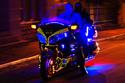 Featured On Faa - Illuminated Harley ride by Heiko Koehrer-Wagner