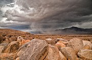 Rocks Photos - Incoming Storm by Cat Connor
