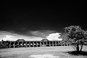 Dry Tortugas Prints - Interior Courtyard Parade Ground Of Fort Jefferson Dry Tortugas National Park Florida Keys Usa Print by Joe Fox