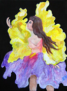 Dancing Girl Paintings - Iris by Gloria Koch