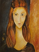 Modigliani Originals - Jeanne-ifer by Jennifer McCarty