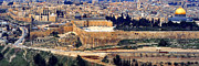 Panoramic Digital Art - Jerusalem from Mount Olive by Thomas R Fletcher