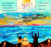 Jesus Loves You Print by Amanda Dinan