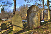 Czech Republic Art - Jewish cemetery by Regina Koch