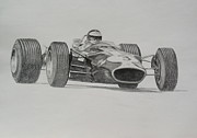 Steve Jones - Jim Clark  Lotus 49
