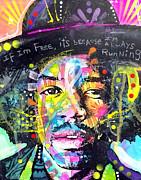 Dean Russo - Jimi Hendrix