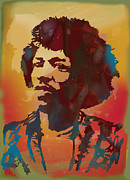 Kim Wang - Jimi Hendrix stylised...