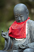 Koya Framed Prints - Jizo statue at Okunoin graveyard Framed Print by Ruben Vicente