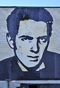 Allen Beatty Prints - Joe Strummer Print by Allen Beatty