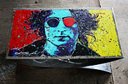 Lennon Sculptures - John Lennon Coffee Table by Chris Mackie