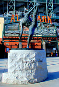 Baseball Fields Prints - Juan Marichal Print by Caroline Stella