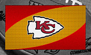 Chiefs Prints - Kansas City Chiefs Print by Joe Hamilton