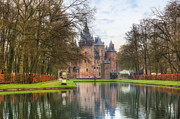 Dutch Framed Prints - Kasteel de Haar Framed Print by Joana Kruse