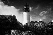 Florida House Posters - Key West Lighthouse Florida Usa Poster by Joe Fox