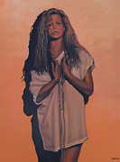 Vale Painting Prints - Kim Basinger Print by Paul  Meijering