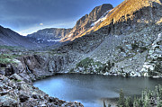 Willow Lake Metal Prints - Kit Carson Peak and Willow Lake Metal Print by Aaron Spong