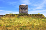 Guernsey Framed Prints - La Rousse Tower - Guernsey Framed Print by Joana Kruse