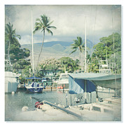 Tropical Photographs Prints - Lahaina Print by Sharon Mau
