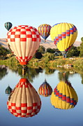 Rally Prints - Landing on the Yakima River Print by Carol Groenen