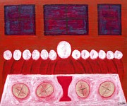 Supper Paintings - Last Supper by Patrick J Murphy