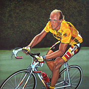 Cancer Paintings - Laurent Fignon  by Paul  Meijering