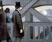 Railway Paintings - Le Pont de lEurope by Gustave Caillebotte