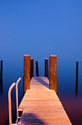 Concord Point Metal Prints - Leading into the Big Blue Metal Print by Crystal Wightman