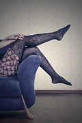 Shoeless Prints - Legs Print by Joana Kruse