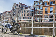 Draw Bridge Prints - Leiden Print by Joana Kruse
