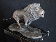 Art Sculptures Sculptures - Leone by Roberto Bianchi