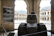 Courtyard Prints - Les Invalides - Paris France - 01133 Print by DC Photographer