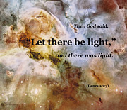 Januszkiewicz Prints - Let There Be Light Print by Patricia Januszkiewicz