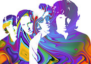 The Doors Posters - Light my Fire Poster by Stefan Kuhn