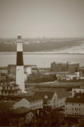 Navigate Framed Prints - Lighthouse - Atlantic City Framed Print by Frank Romeo