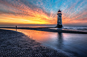 Adrian Evans - Lighthouse Sunset