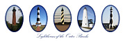 Currituck Art - Lighthouses of the Outer Banks by Tony Cooper