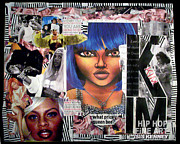Lil Kim Art - Lil Kim The Making Of A Queen Bee by Isis Kenney