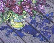 Lilacs Print by Gloria  Nilsson