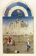 Limburg Framed Prints - Limbourg, Jean Ca. 1370-1416 Limbourg Framed Print by Everett